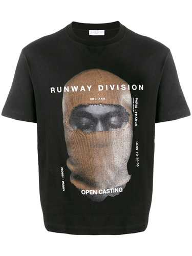 Picture of Ih Nom Uh Nit | `Runway Division` Print T-Shirt