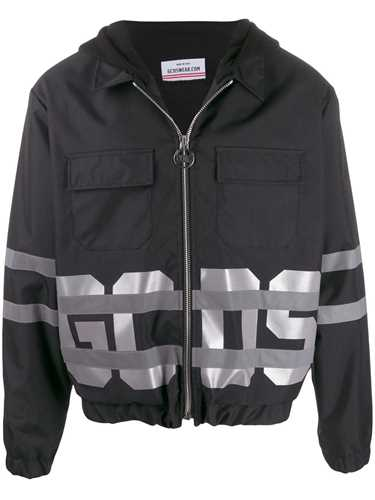 Picture of Gcds | Reflective Logo Bomber Jacket