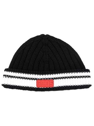 Picture of Gcds | White Trim Knitted Beanie