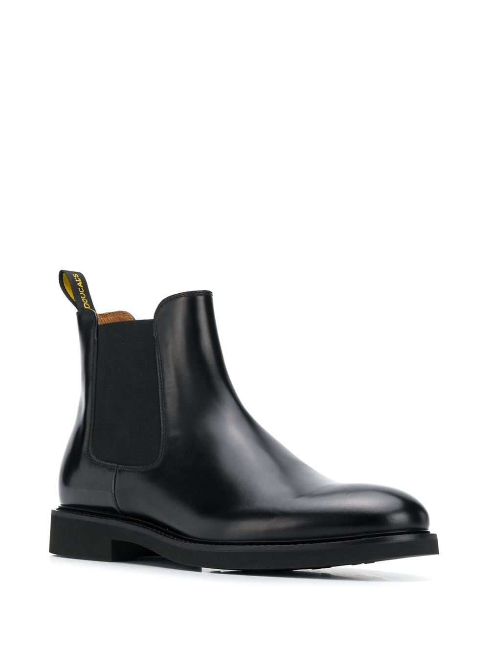 Picture of Doucal`S | Plain Chelsea Boots