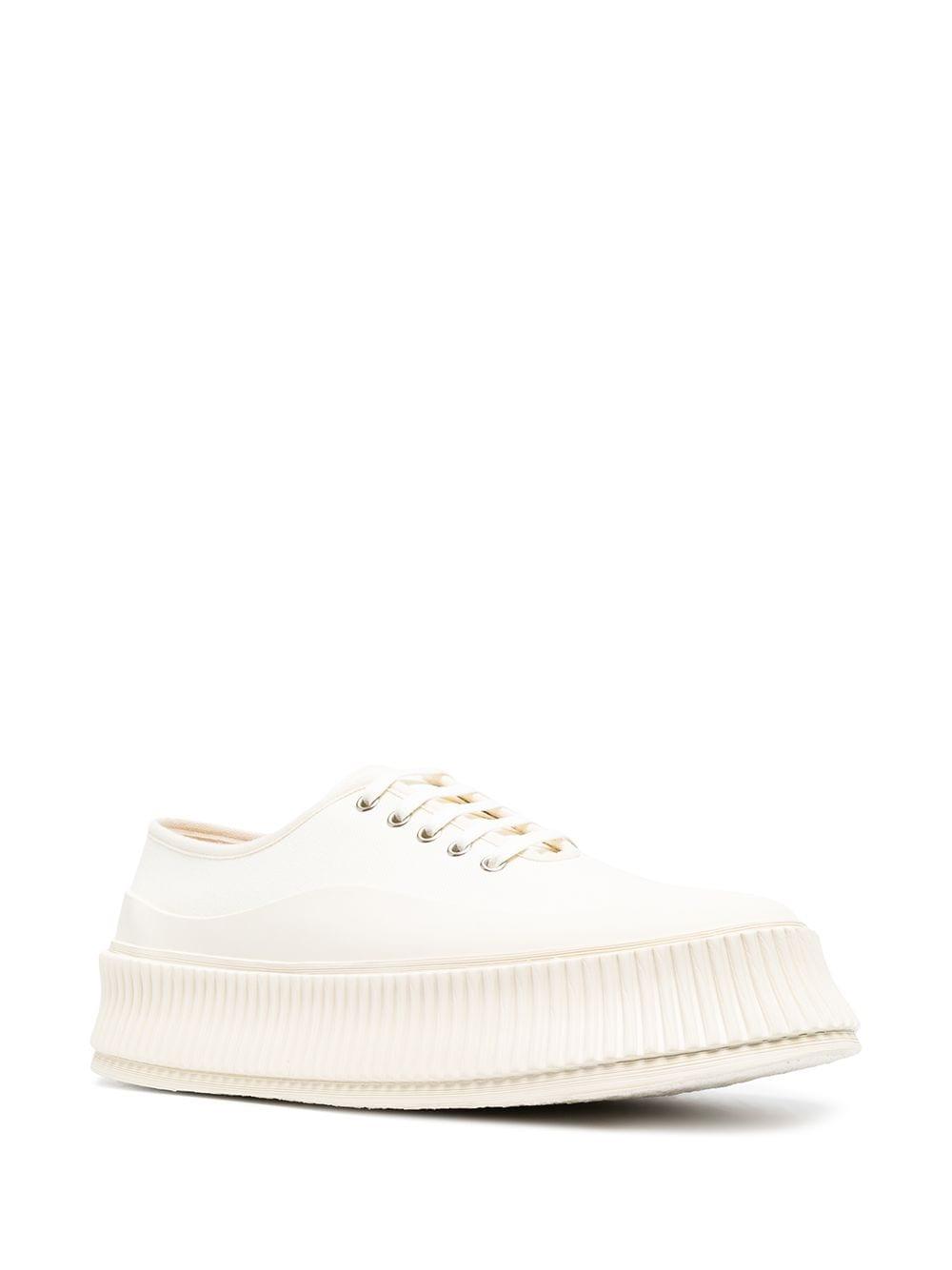 Picture of Jil Sander | Ridged-Sole Sneakers
