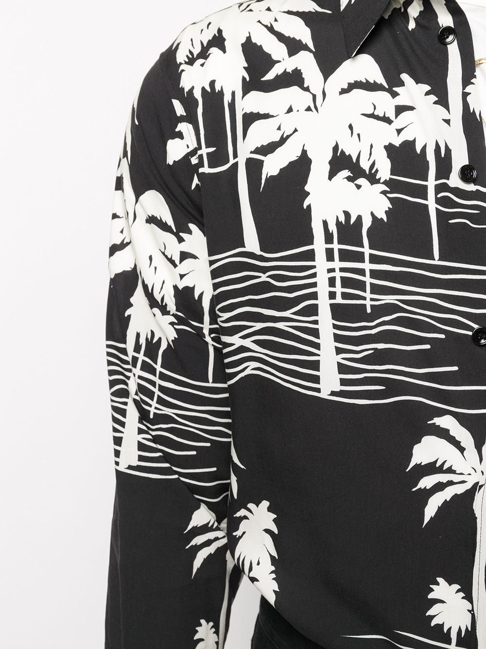 Picture of Celine | Classic Shirt In Printed Viscose