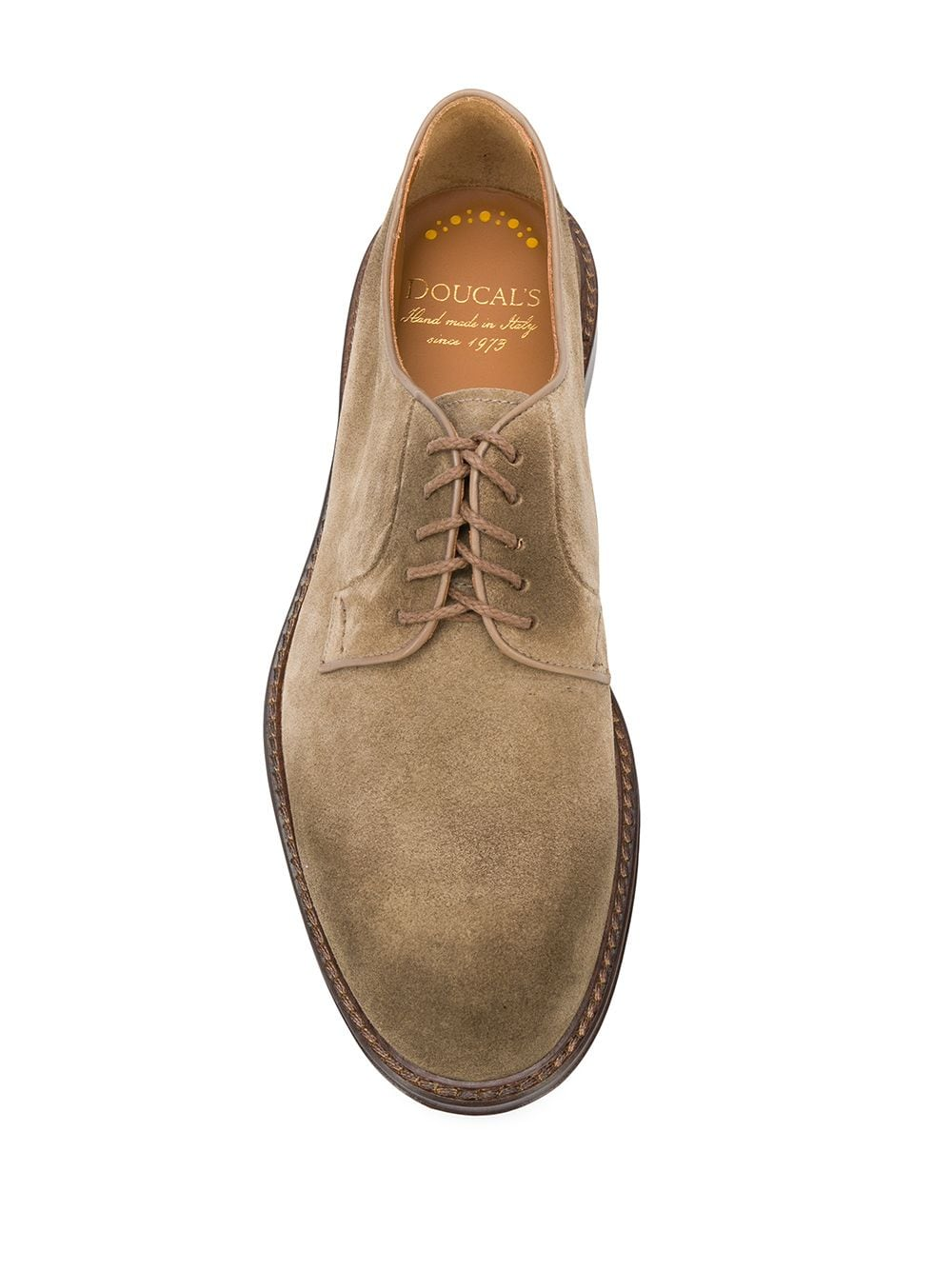 Picture of Doucal`S | Suede Derby Shoes