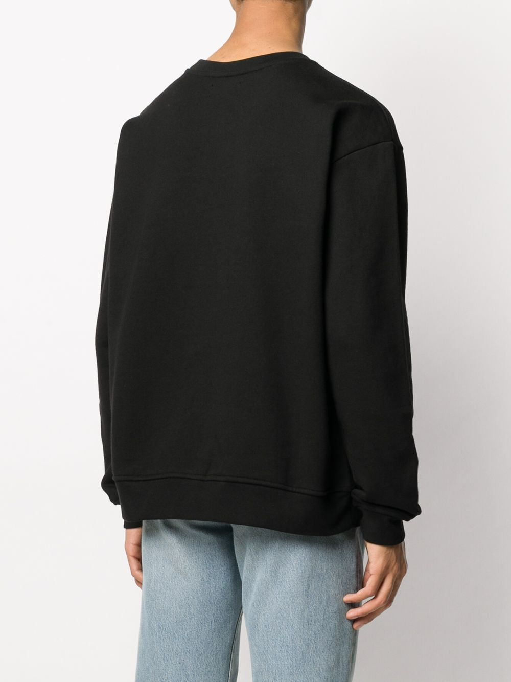 Picture of 424 | Logo-Embroidered Cotton Sweatshirt