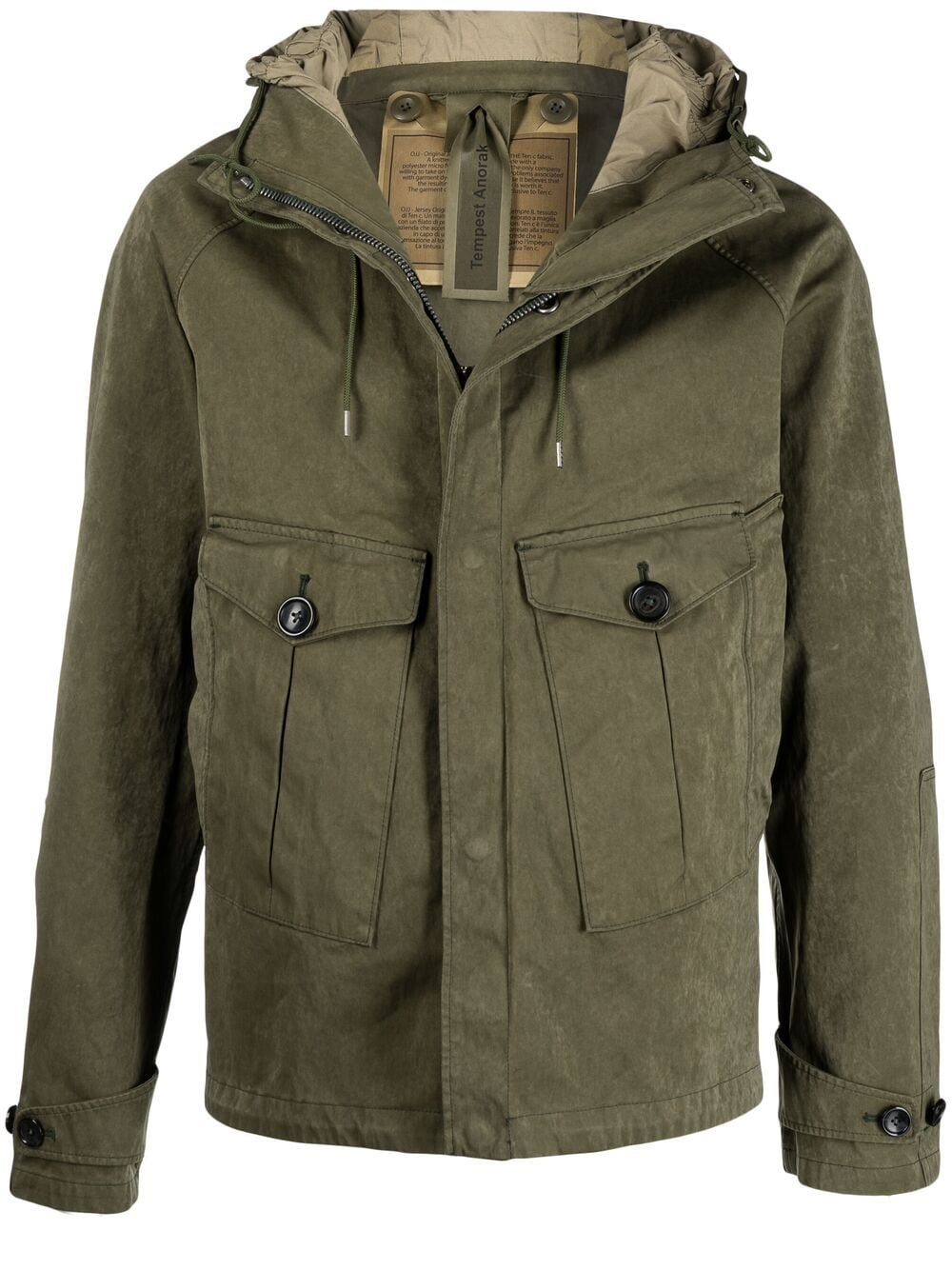 Picture of Ten C | Tempest Hooded Jacket
