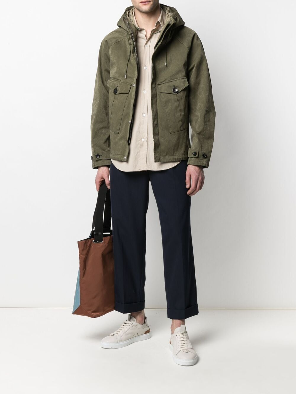 Picture of Ten C   Tempest Hooded Jacket