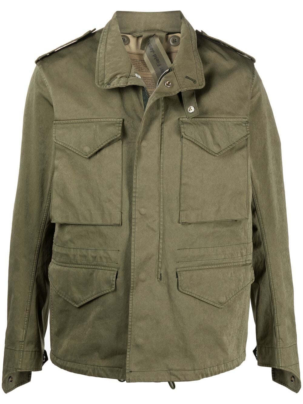 Picture of Ten C | Concealed Hood Military Jacket