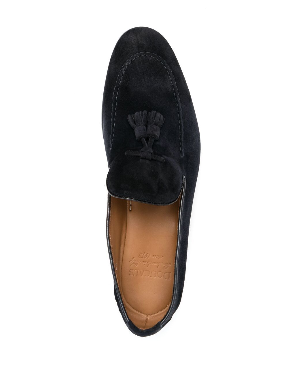Picture of Doucal`S   Suede Tassel Loafer