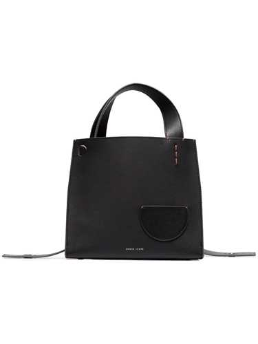 Picture of Danse Lente | Black Margot Calf Leather Tote Bag