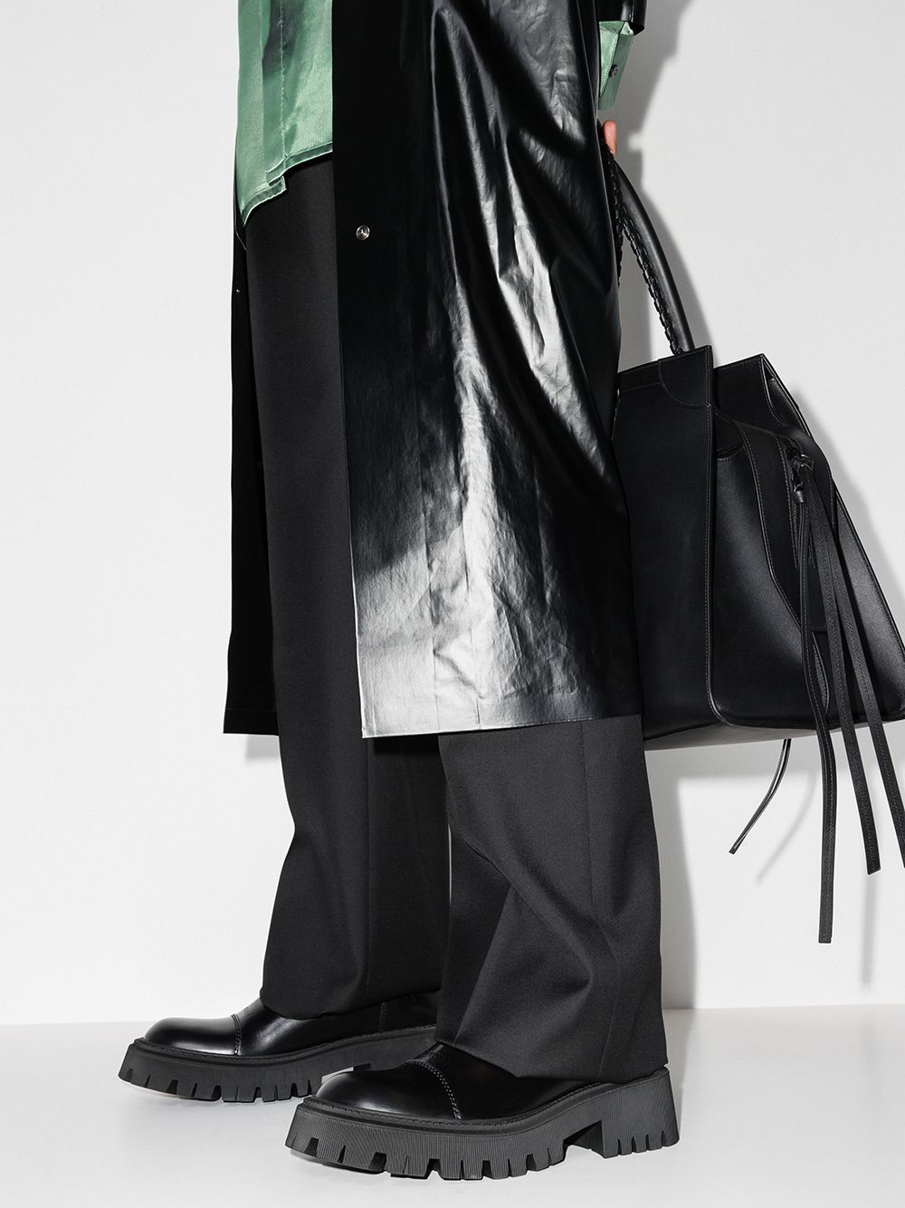Picture of Balenciaga | Tractor Chelsea Boots