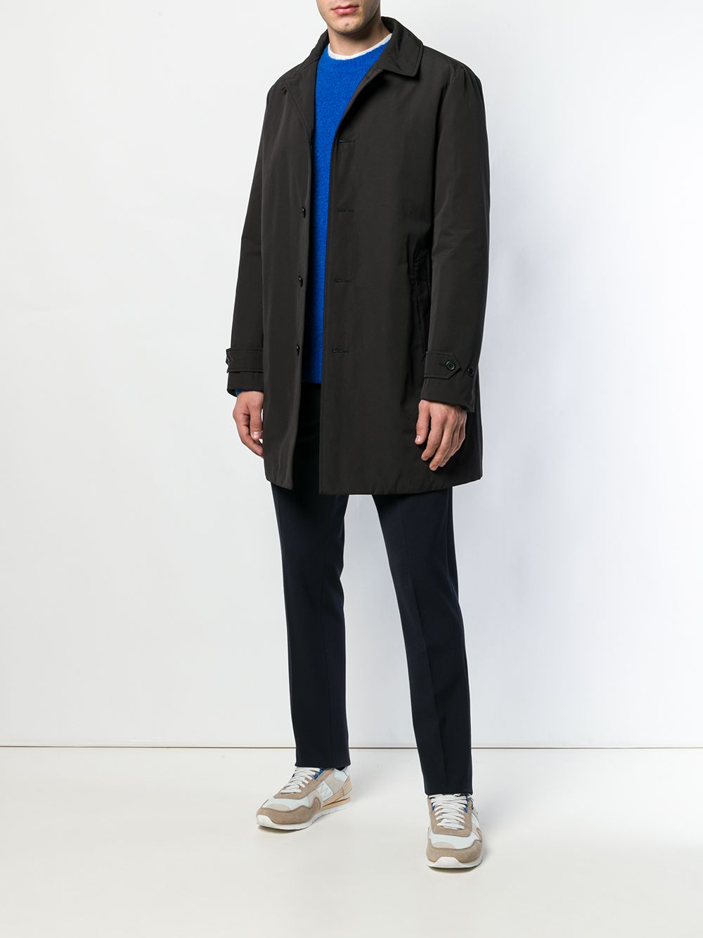 Picture of Aspesi   Loose Fit Buttoned Coat
