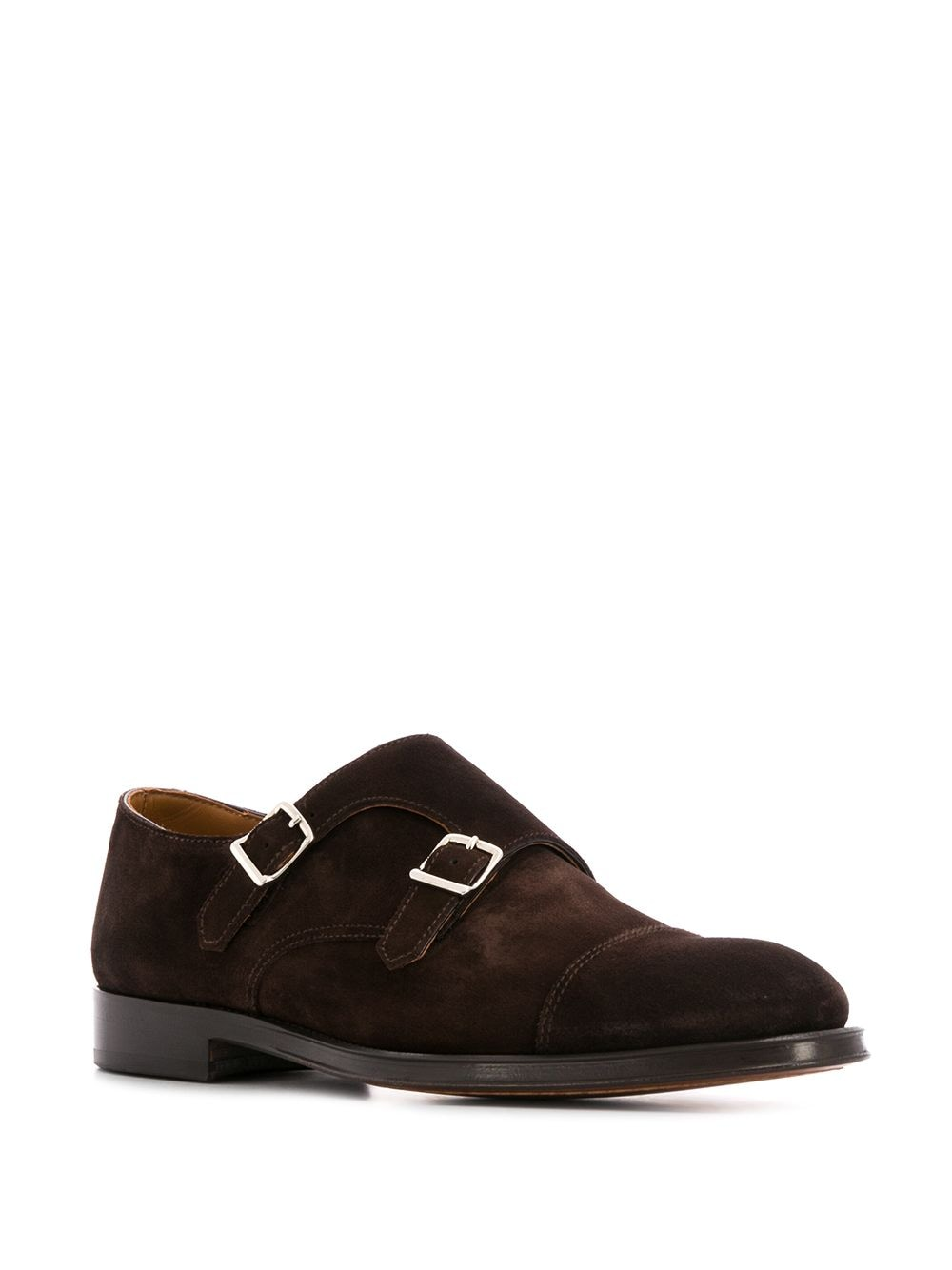 Picture of Doucal`S | Buckled Monk Shoes