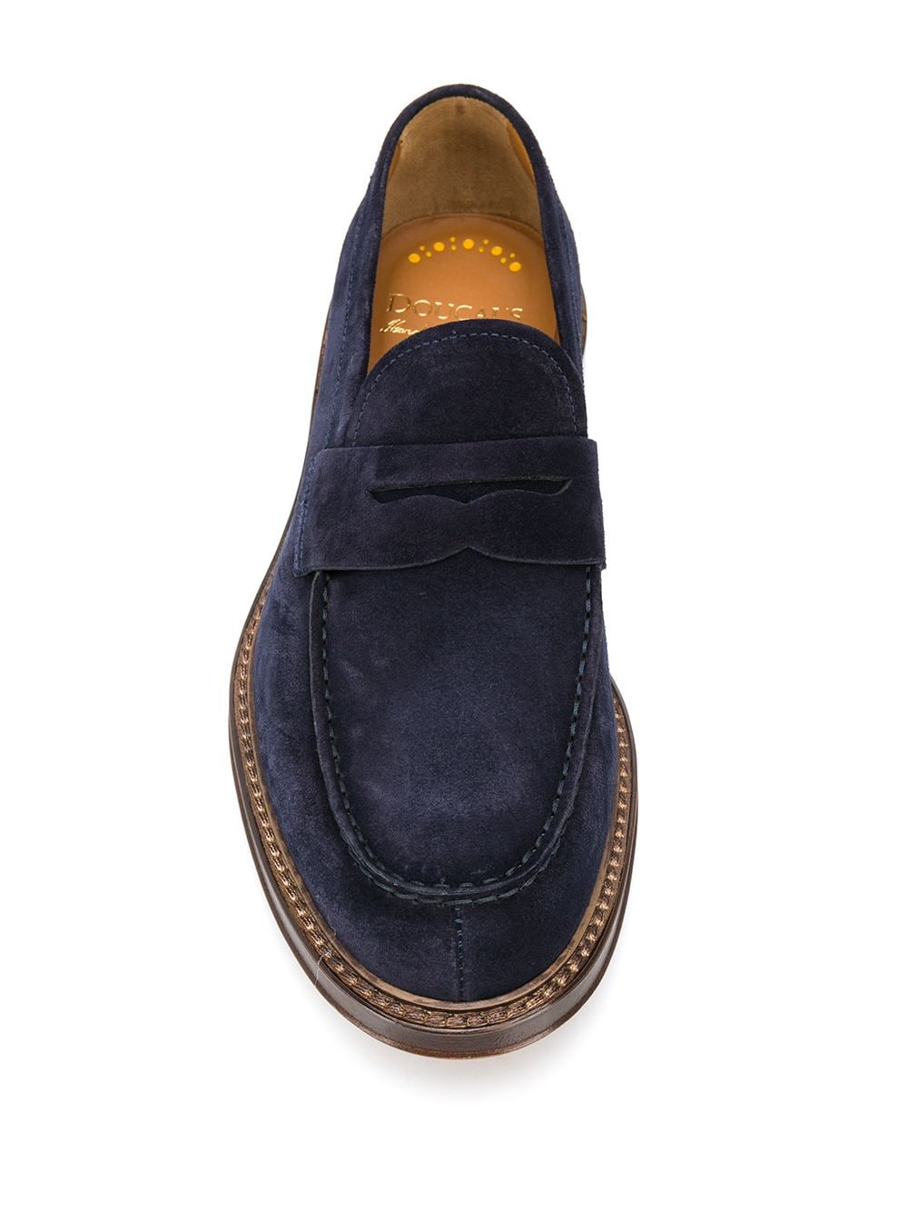 Picture of Doucal`S | Stitch-Trimmed Loafers