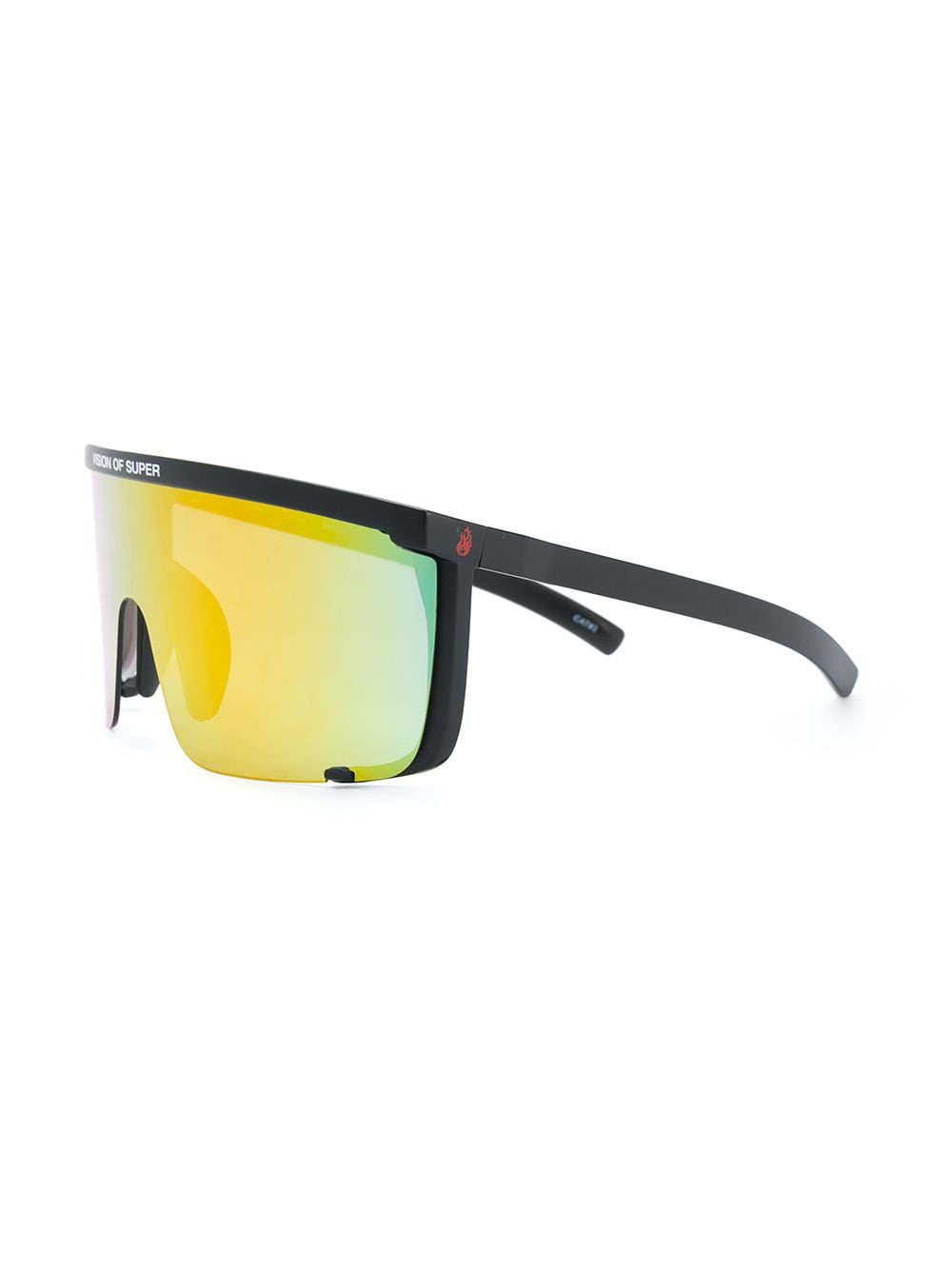 Picture of Vision Of Super | Flames Oversized-Frame Sunglasses