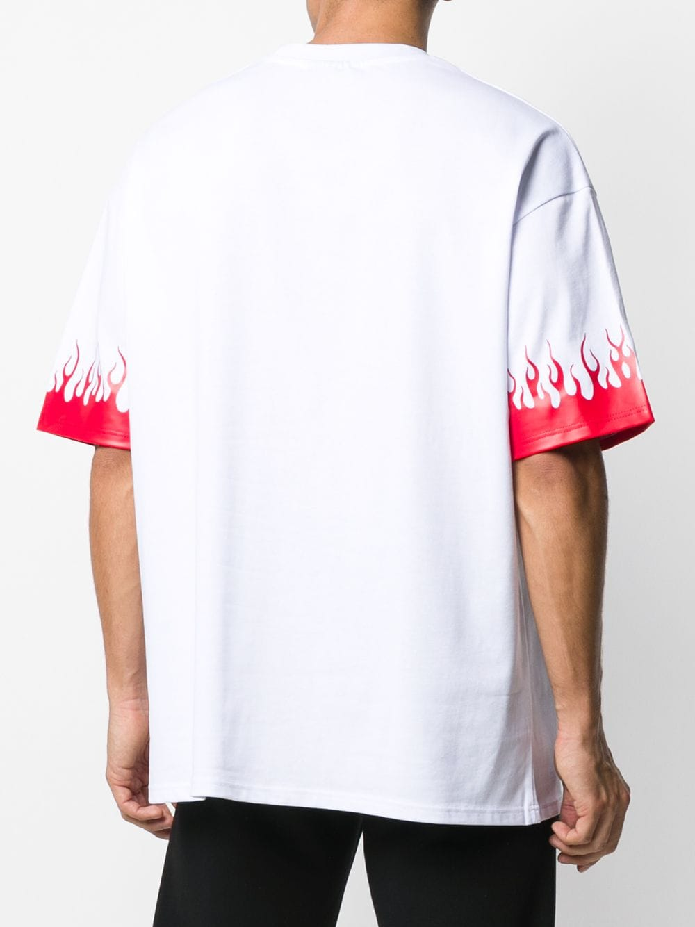 Picture of Vision Of Super   Flaming T-Shirt