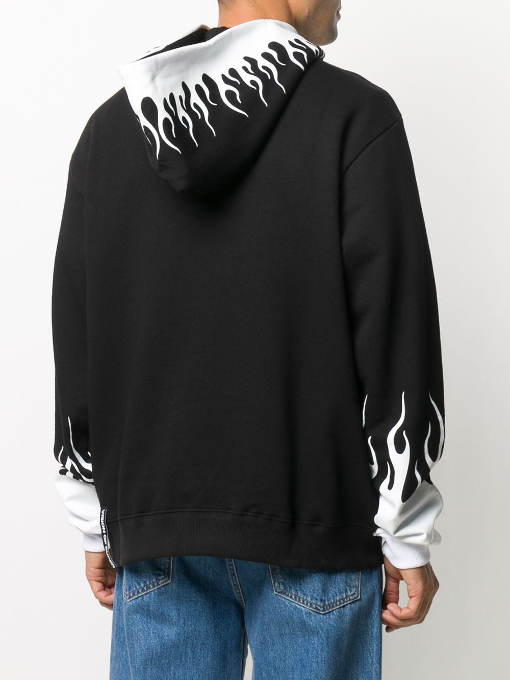 Picture of Vision Of Super   Flame Logo Hoodie
