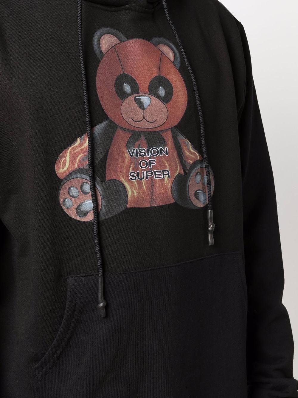 Picture of Vision Of Super | Panda Print Hoodie