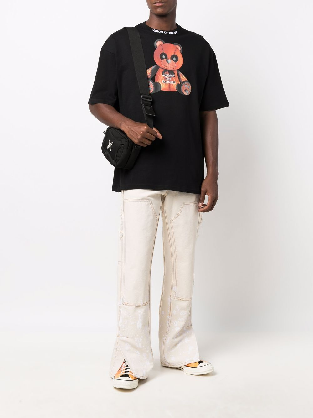 Picture of Vision Of Super | Panda Print T-Shirt