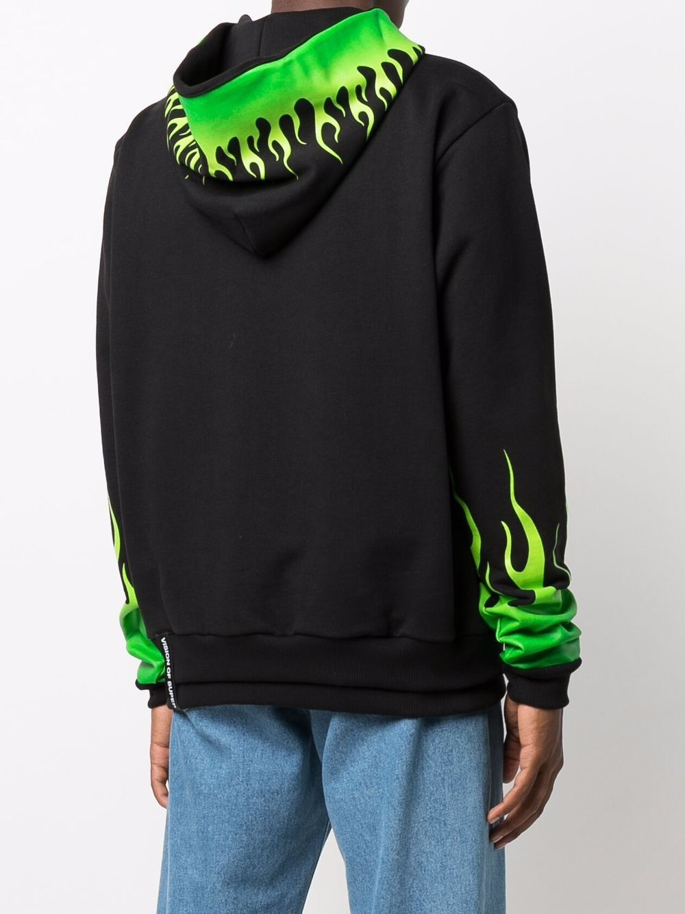 Picture of Vision Of Super | Fire Print Hoodie