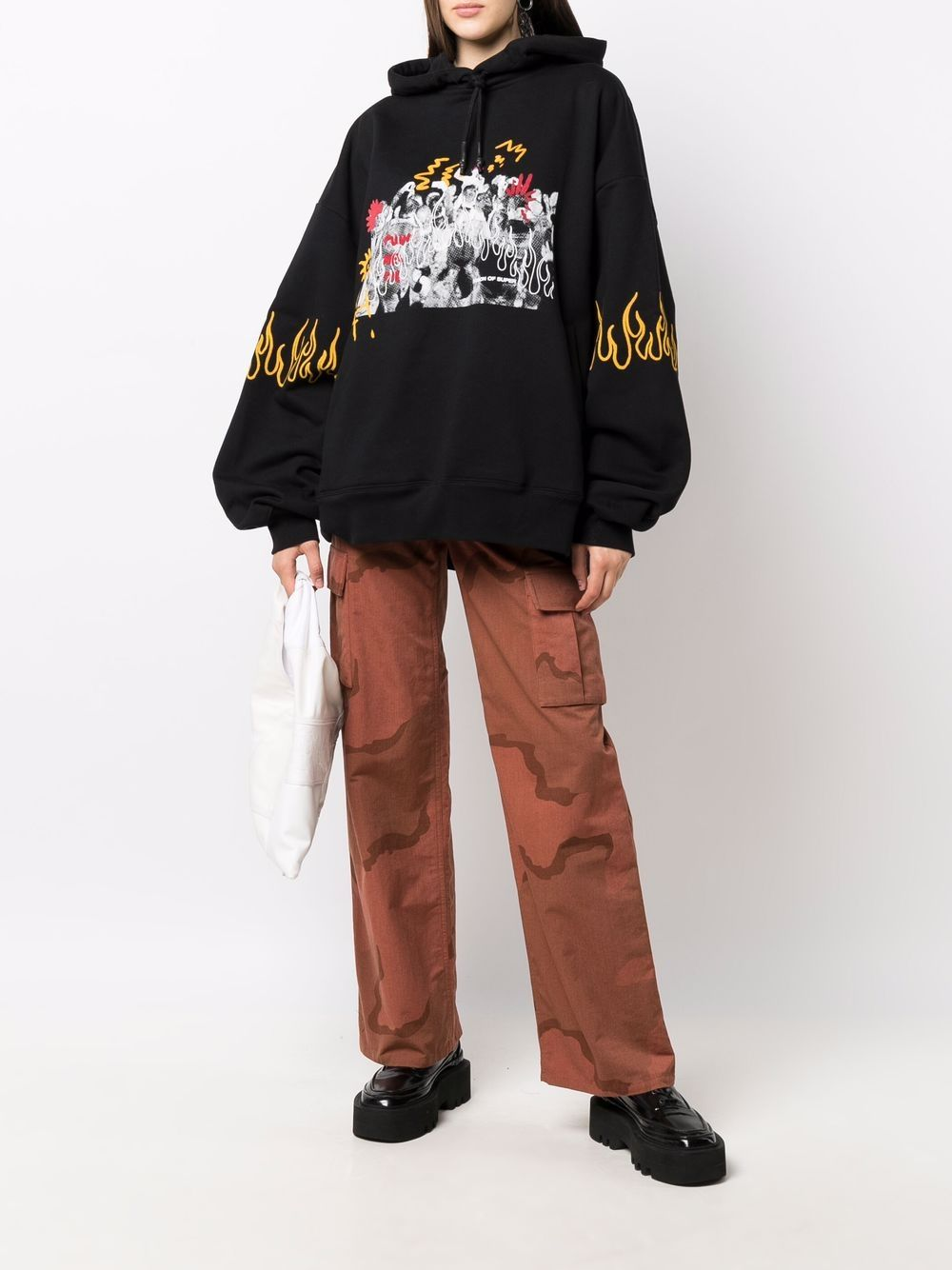 Picture of Vision Of Super | Graphic-Print Hoodie