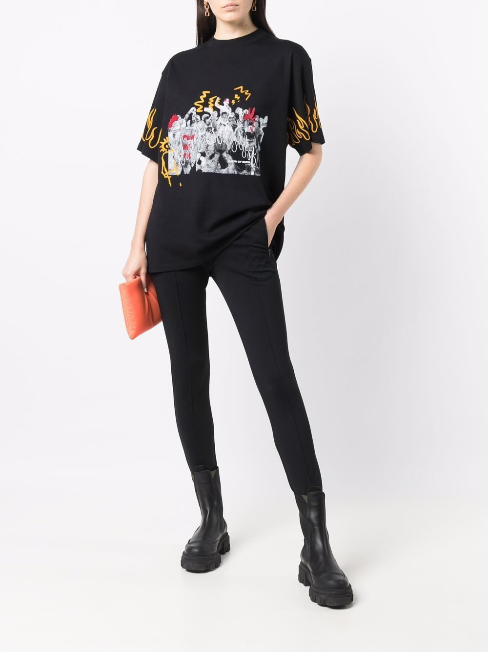 Picture of Vision Of Super   Punk Print T-Shirt
