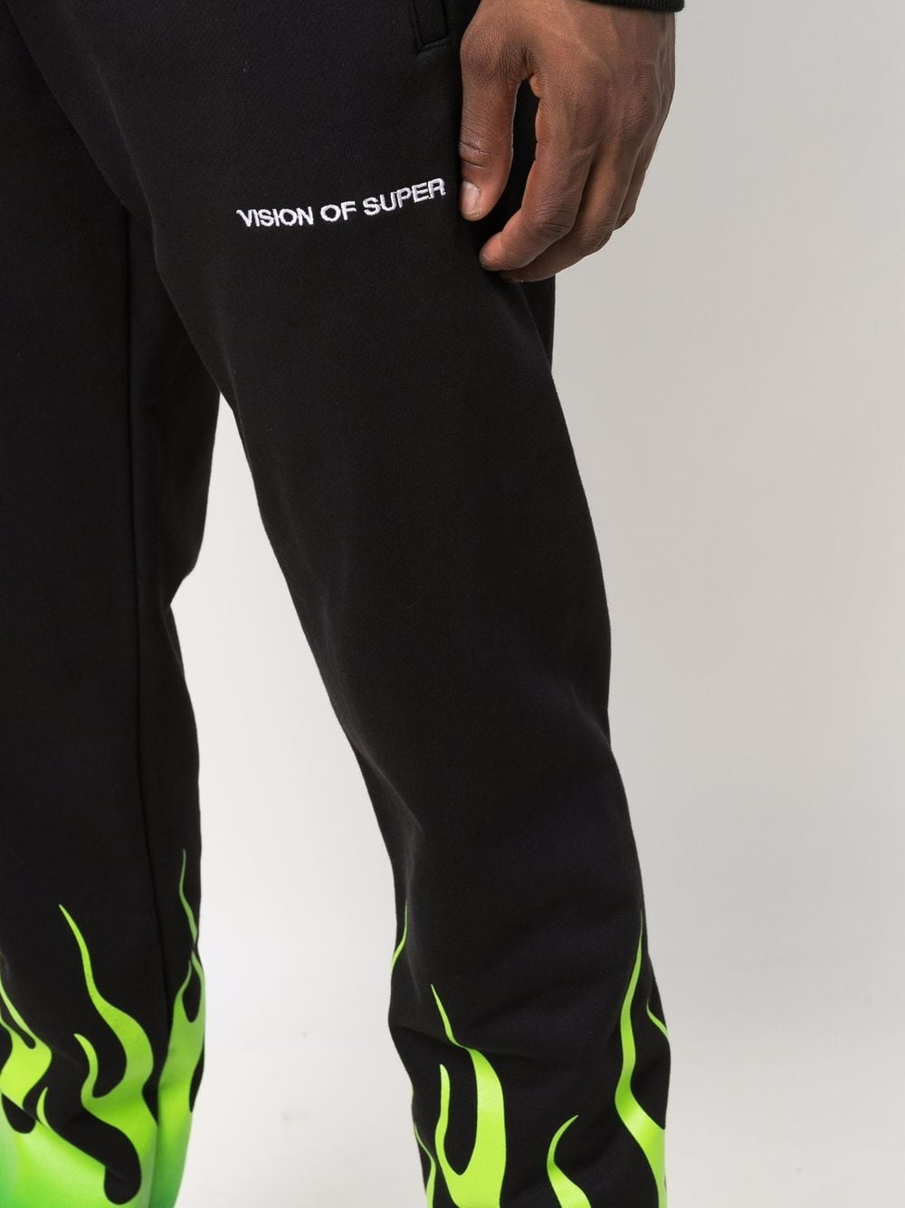 Picture of Vision Of Super | Fire Print Joggers