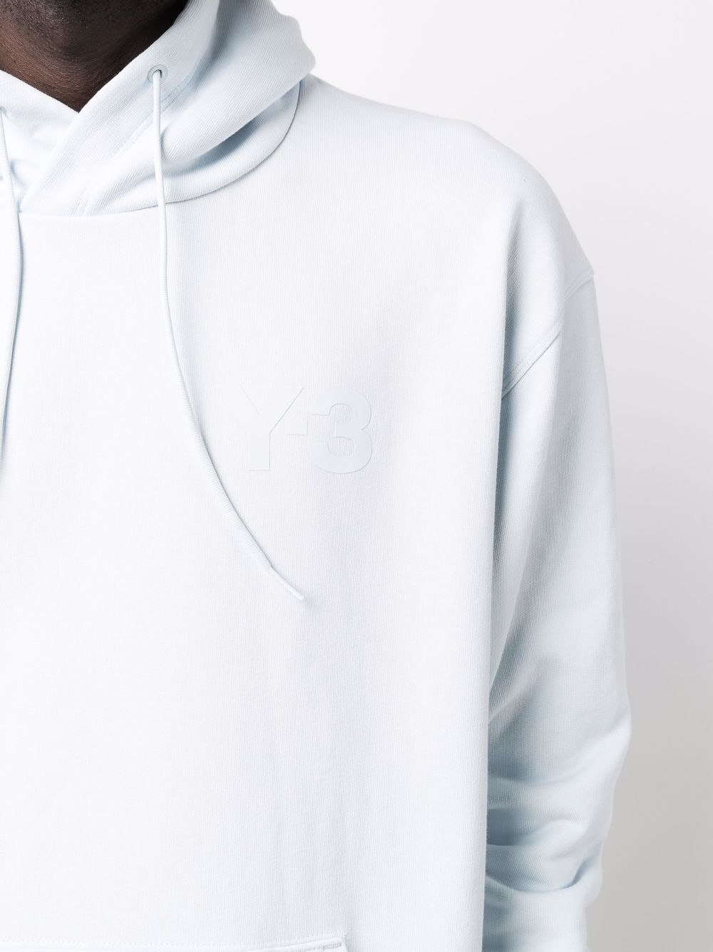 Picture of Adidas Y-3   Logo-Print Cotton Hoodie