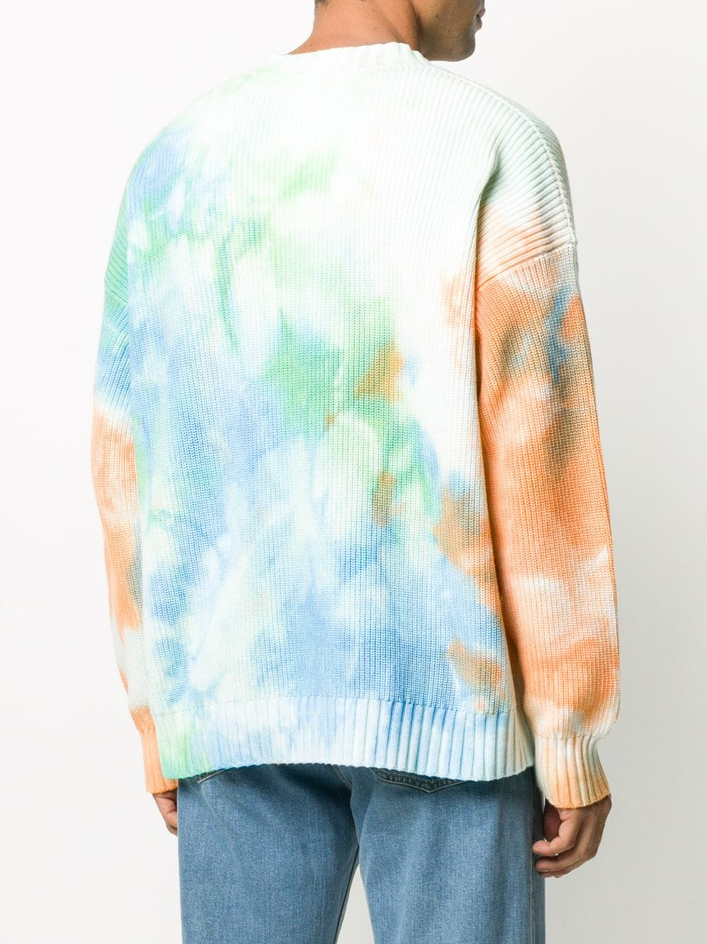 Picture of Msgm | Tie-Dye Print Cardigan