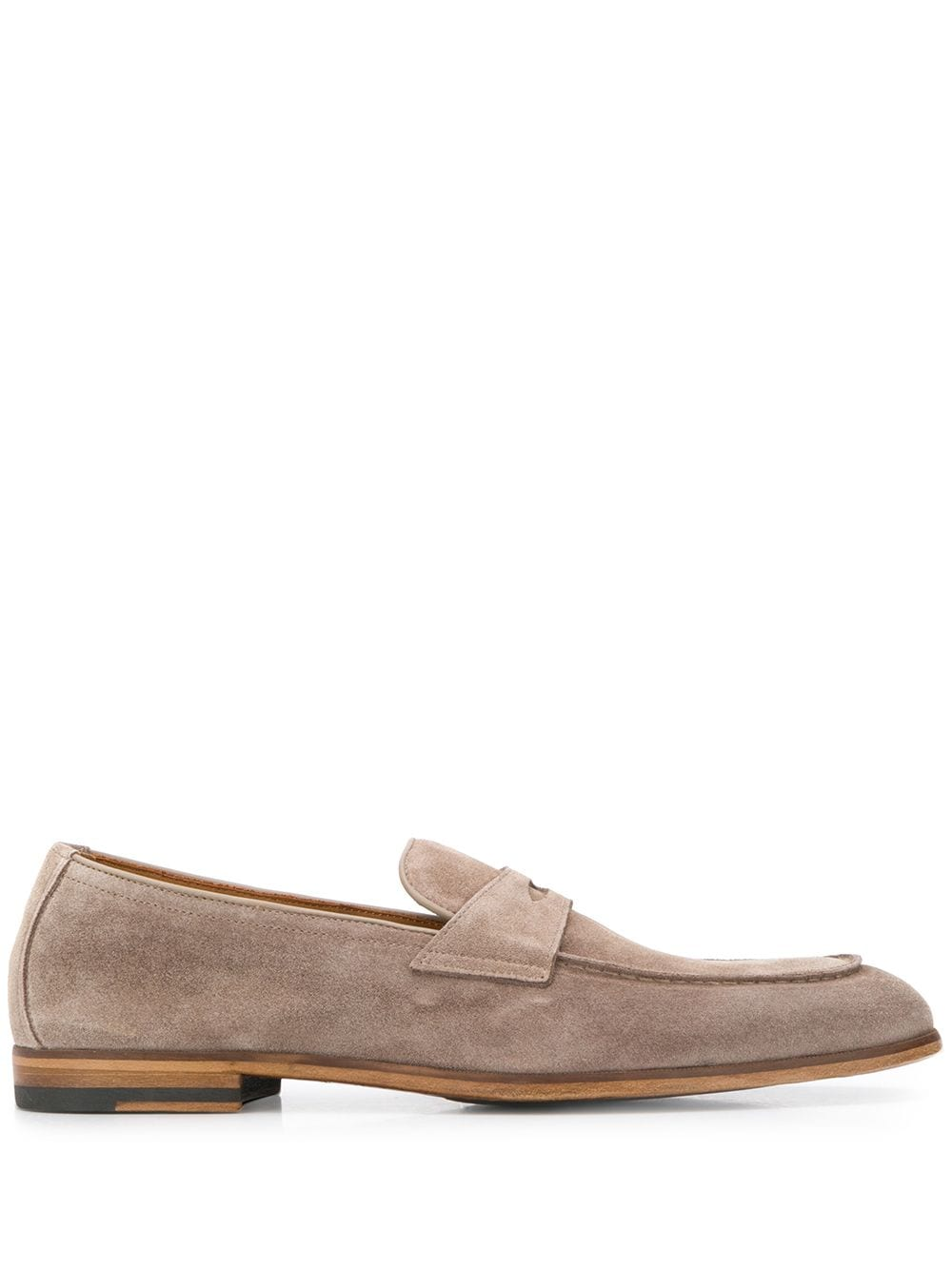 Picture of Doucal`S | Front-Strap Loafers