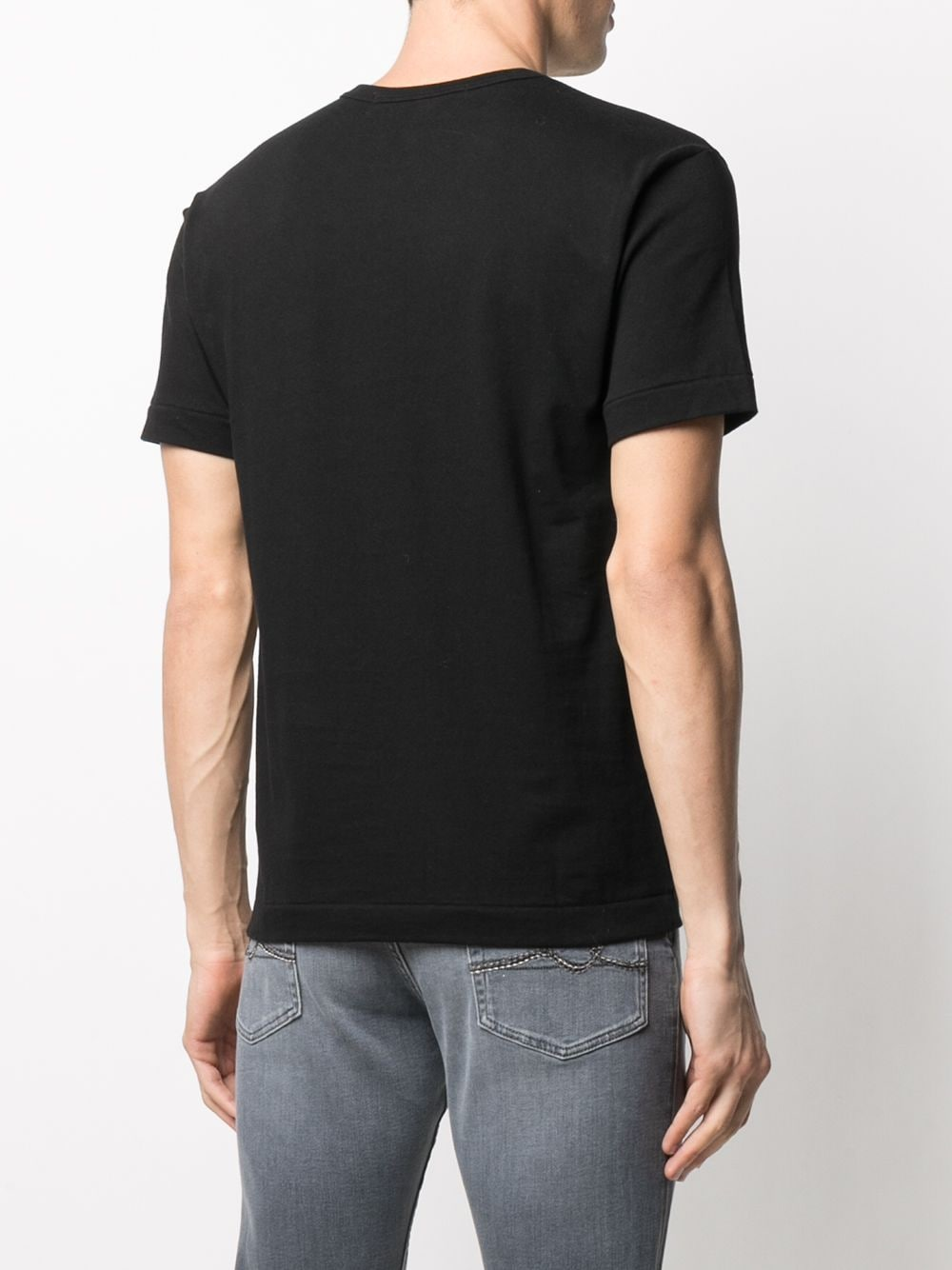 Picture of Comme Play | Embroidered Heart T-Shirt