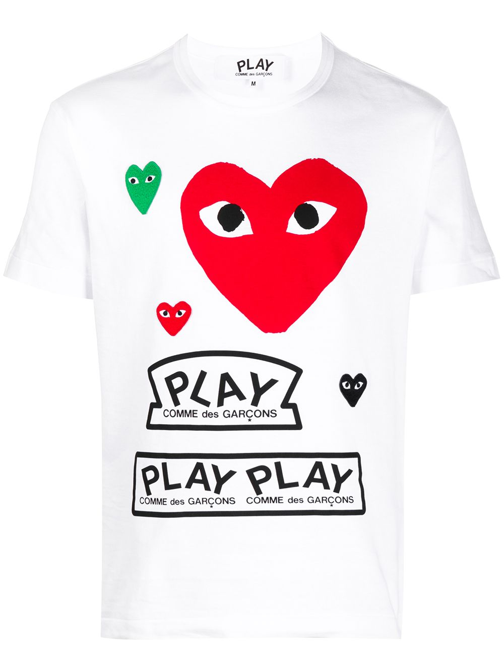 Picture of Comme Play | Heart T-Shirt