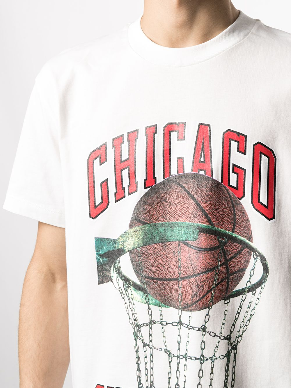 Picture of Ih Nom Uh Nit   Chicago-Print Cotton T-Shirt