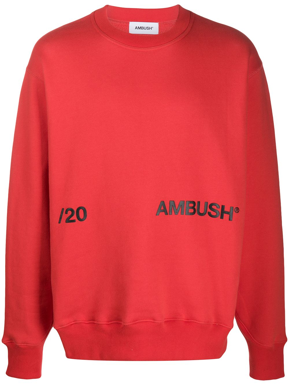 Picture of Ambush | Printed Logo Sweater
