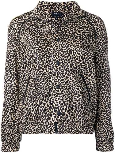 Picture of A.P.C. | Leopard Print Jacket