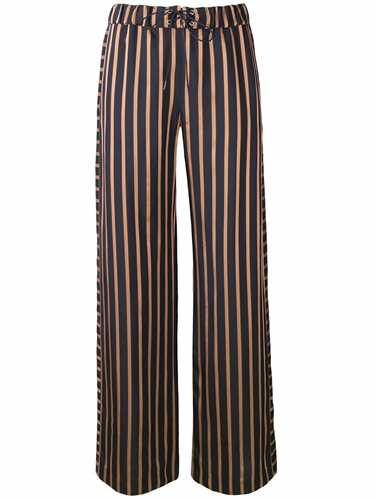 Picture of A.P.C. | Striped Wide Leg Trousers