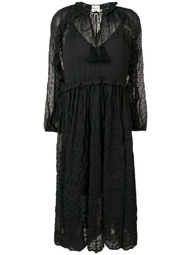 Picture of Semicouture | Embroidered Lace Dress