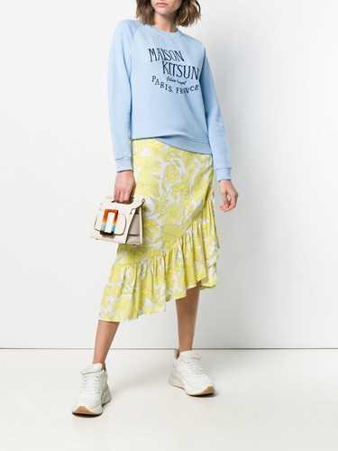 Picture of Maison Kitsune` | Logo Embroidered Sweatshirt