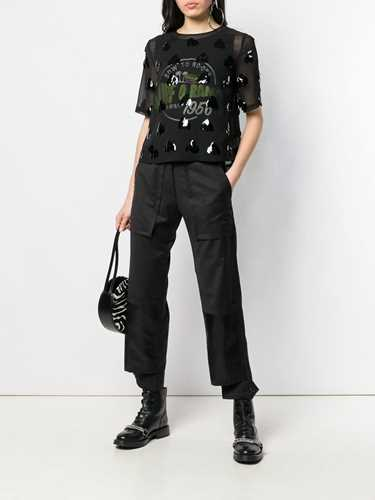 Picture of Mcq | Sequin Embellished Sheer Top