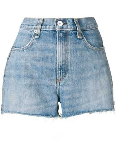 Picture of Rag&Bone | Zip Detail Jean Shorts