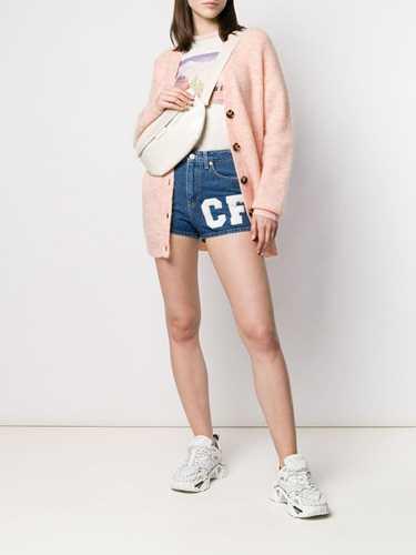 Picture of Chiara Ferragni | Multi-Patch Denim Shorts