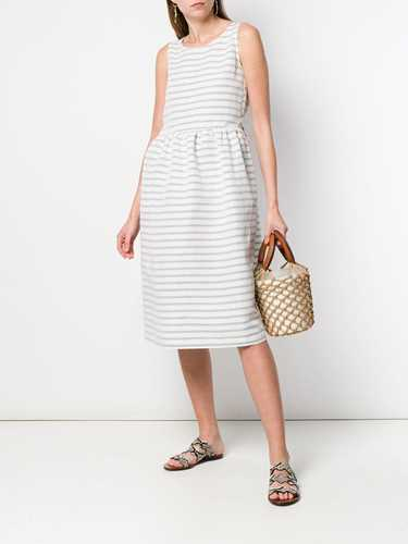 Picture of Semicouture | Striped Midi Dress