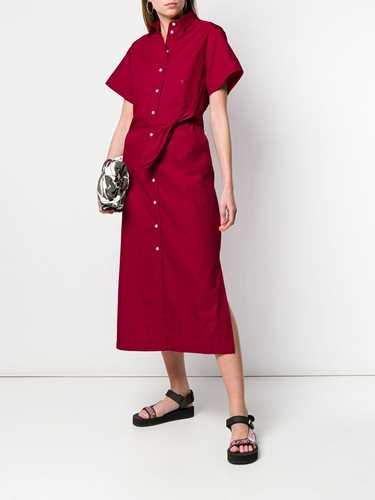 Picture of Maison Kitsune` | Belted Shirt Dress