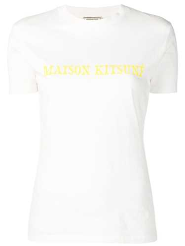 Picture of Maison Kitsune` | Slim-Fit Logo T-Shirt