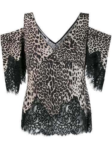 Picture of Mcq | Leopard Shoulder Top