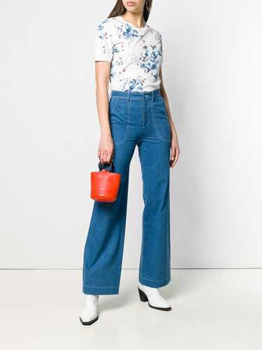 Picture of A.P.C. | Contrast Stitch Flared Jeans