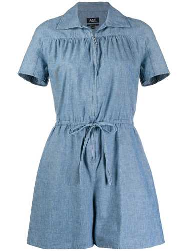 Picture of A.P.C. | Belted Denim Playsuit