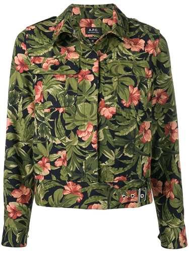 Picture of A.P.C. | Flower Shirt Jacket