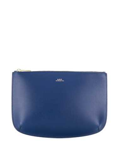 Picture of A.P.C. | Printed Logo Clutch Bag
