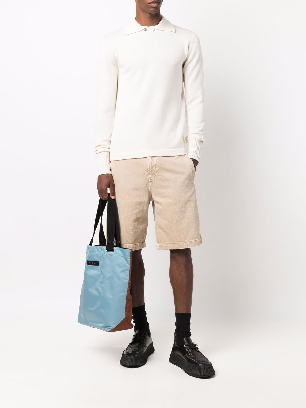 Picture of Jil Sander | Spread-Collar Wool Jumper