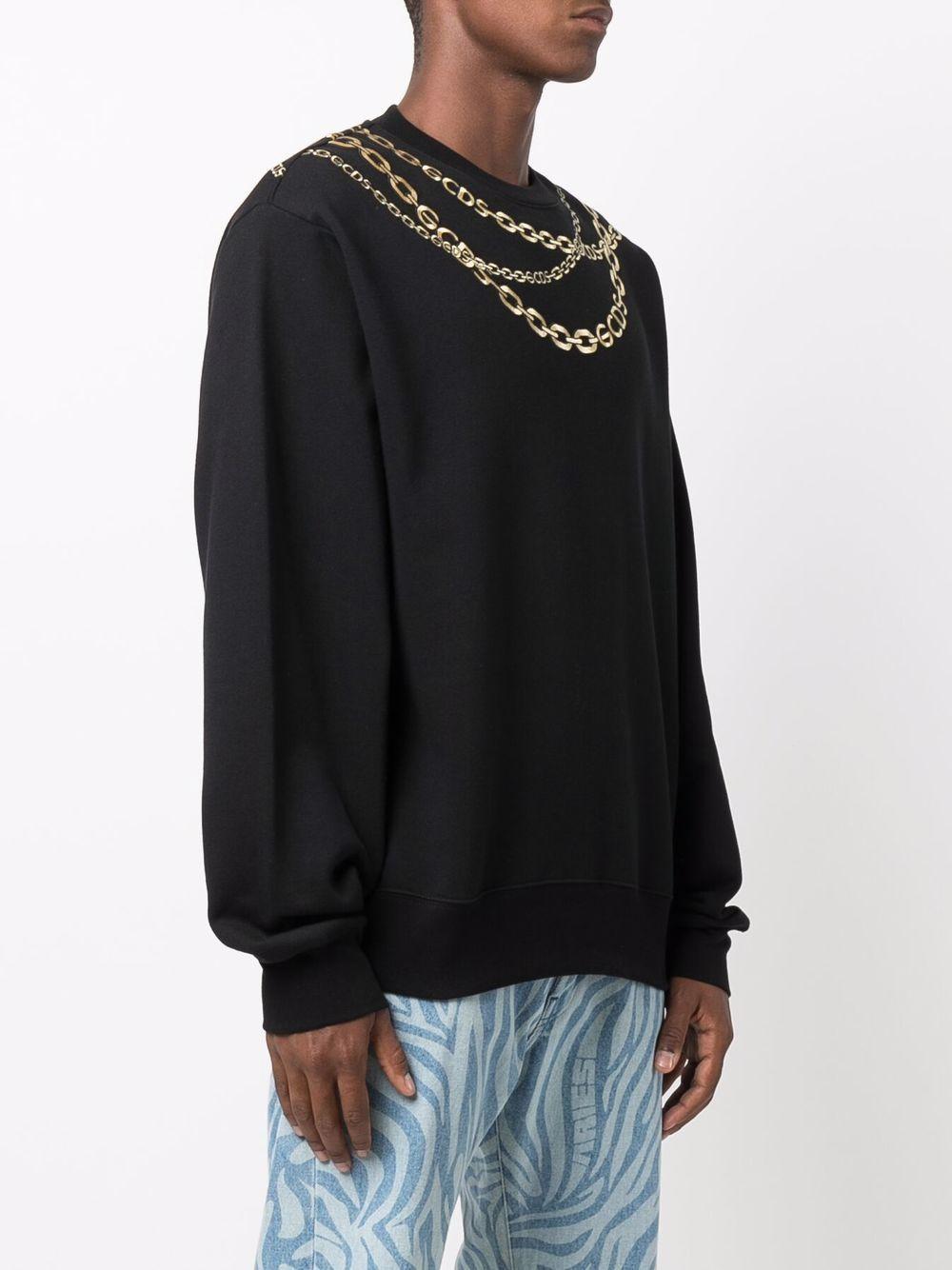 Picture of Gcds   Chain-Link Print Sweatshirt